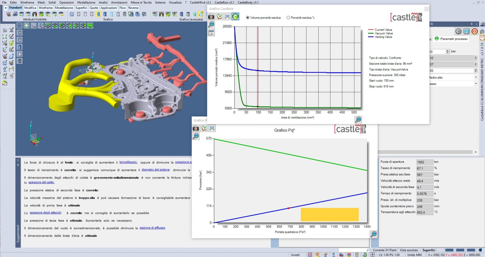 CastleMIND: Machine and Process Modelling