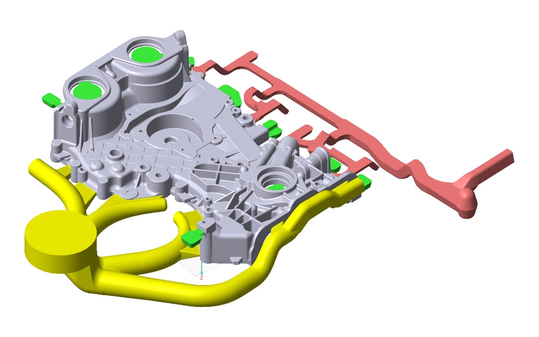 Mould Design for the Die Casting Process: CastleMIND by PiQ2